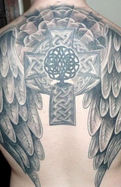 Татуировка кельтский крест