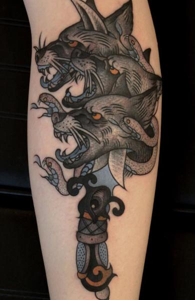 Татуировка цербер