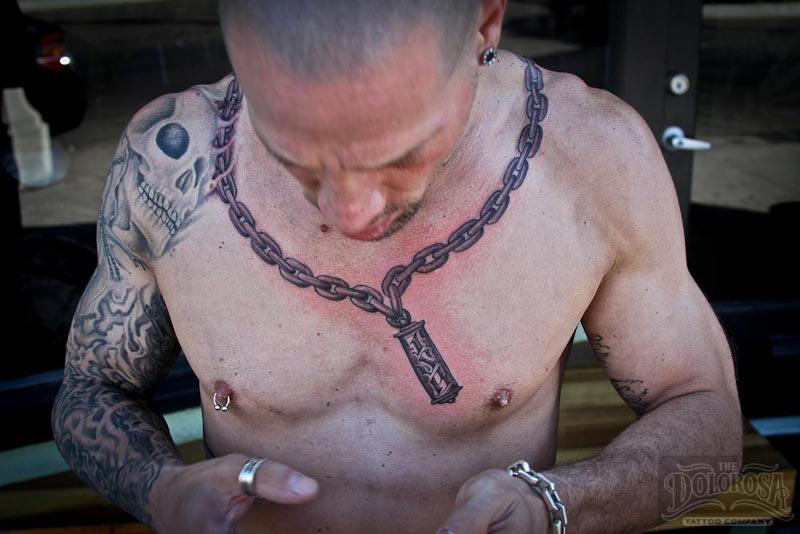 Татуировка цепь