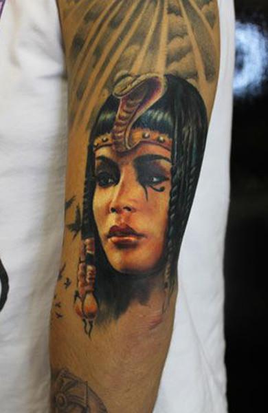 Татуировка Клеопатра