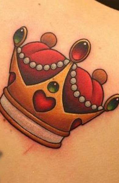 фото татуировка корона