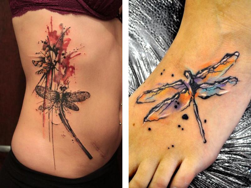 Татуировка стрекоза и ее значение