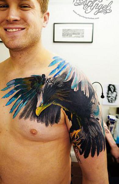 фото татуировка орел