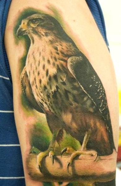 Татуировка сокол