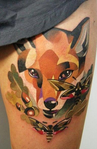 фото татуировка лиса