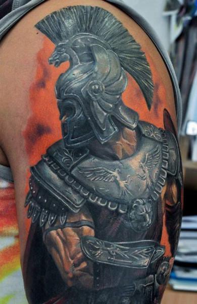 Татуировка гладиатор