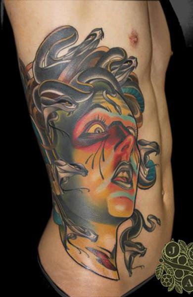 Татуировка горгона