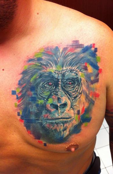 Татуировка горилла