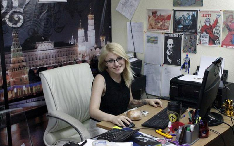 Администратор московского тату-салона