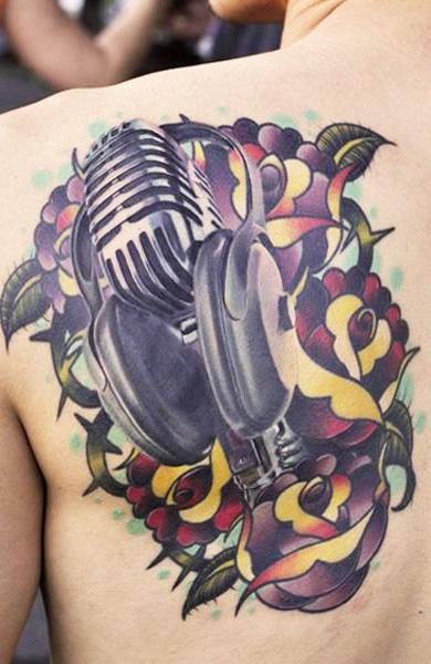 Татуировка наушники