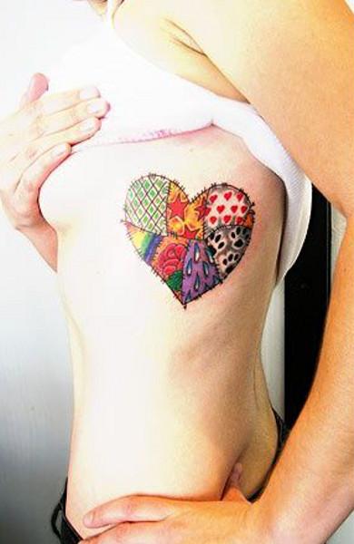 Татуировка сердце