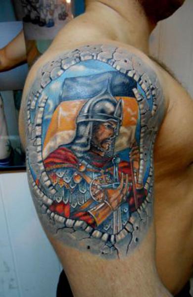 Татуировка богатырь