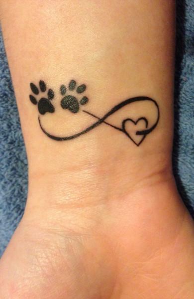 эскиз татуировка бесконечность