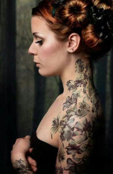 Татуировка жасмин