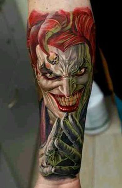 Татуировка шут
