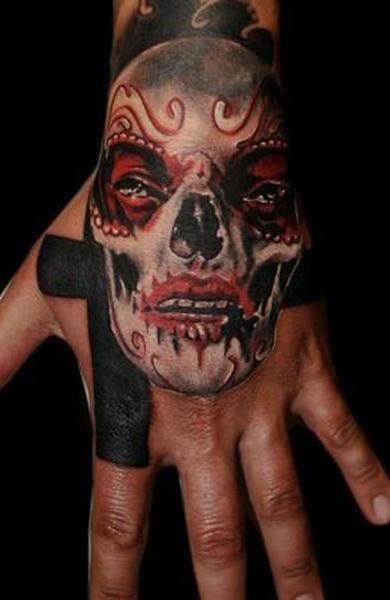 Татуировка на кисти руки