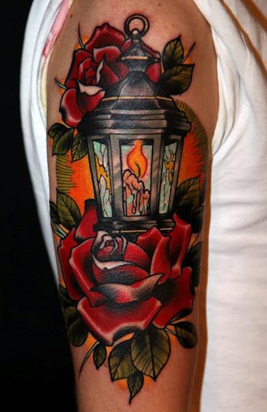 Татуировка фонарь