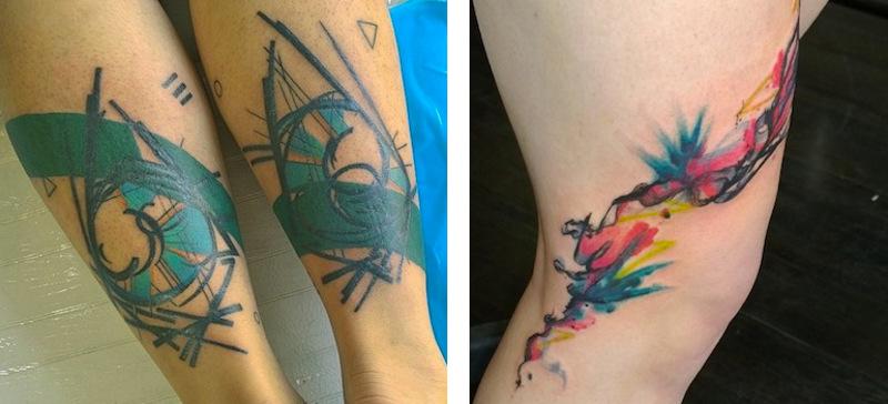 Примеры татуировок Джесси Лу