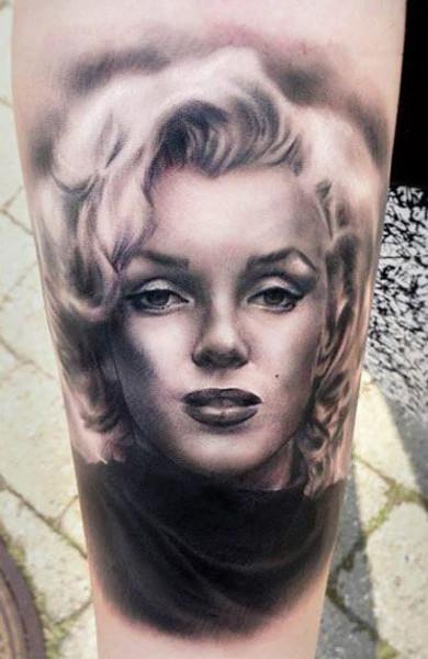 Татуировка Мэрилин Монро