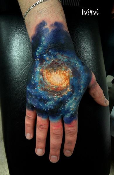 Татуировка Млечный Путь