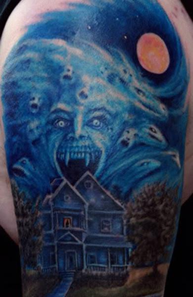 Татуировка ночь