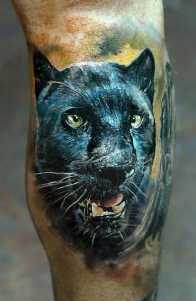 фото татуировка пантера