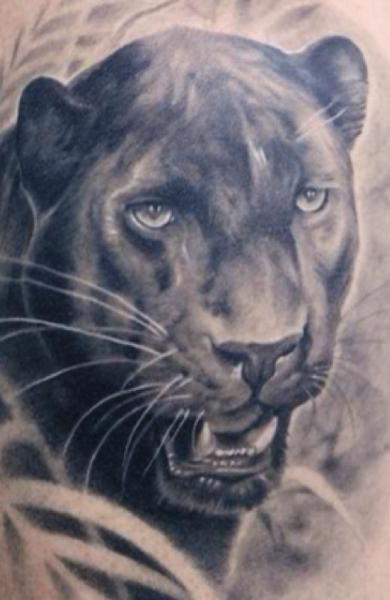 Татуировка пантера
