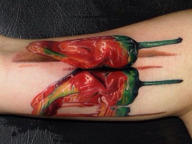 Татуировка перец