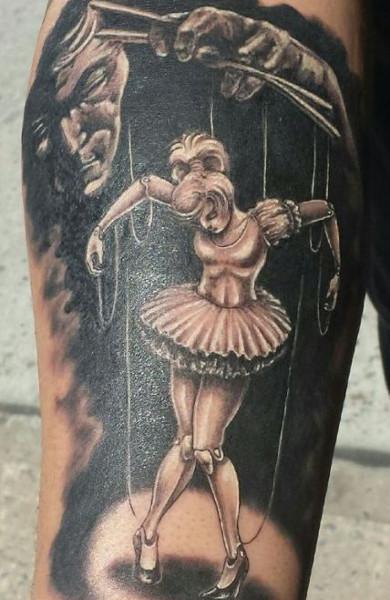 Татуировка кукловод