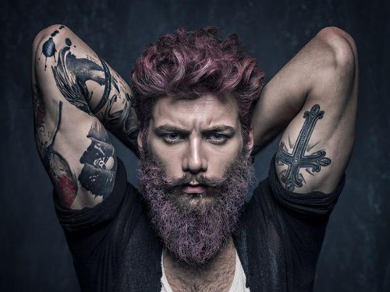 Татуировка и борода