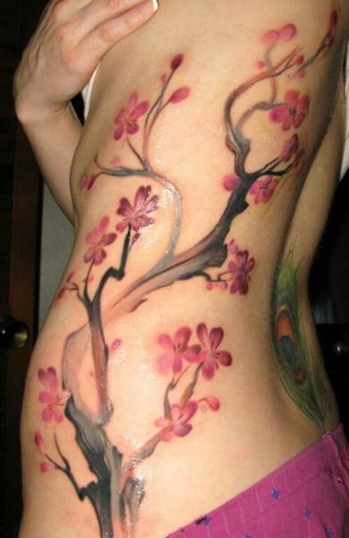 Татуировка сакура