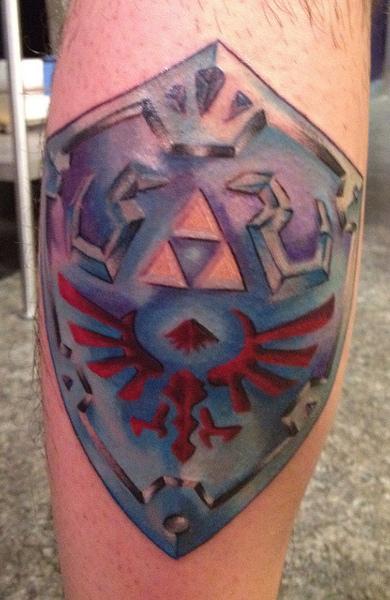 Татуировка щит