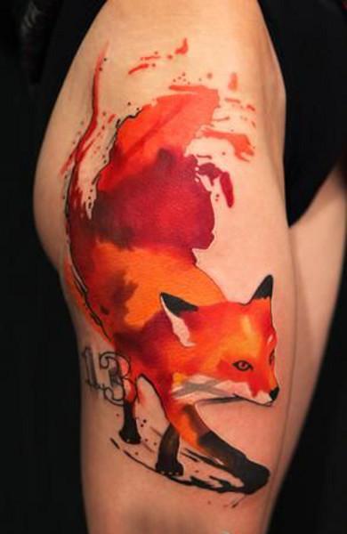 Татуировка число 13