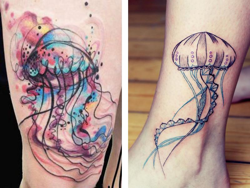 Татуировка медуза и ее значение