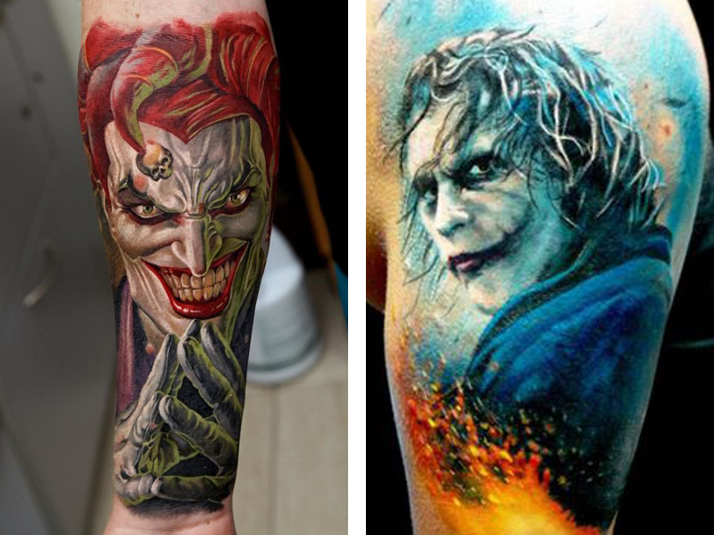 Татуировка Джокер и ее значение