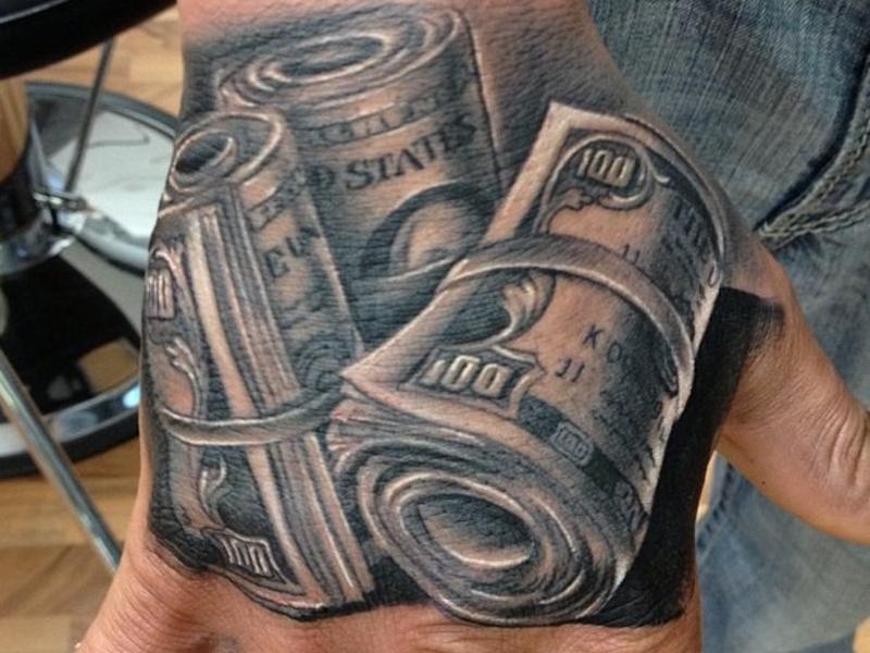 Татуировка деньги и ее значение