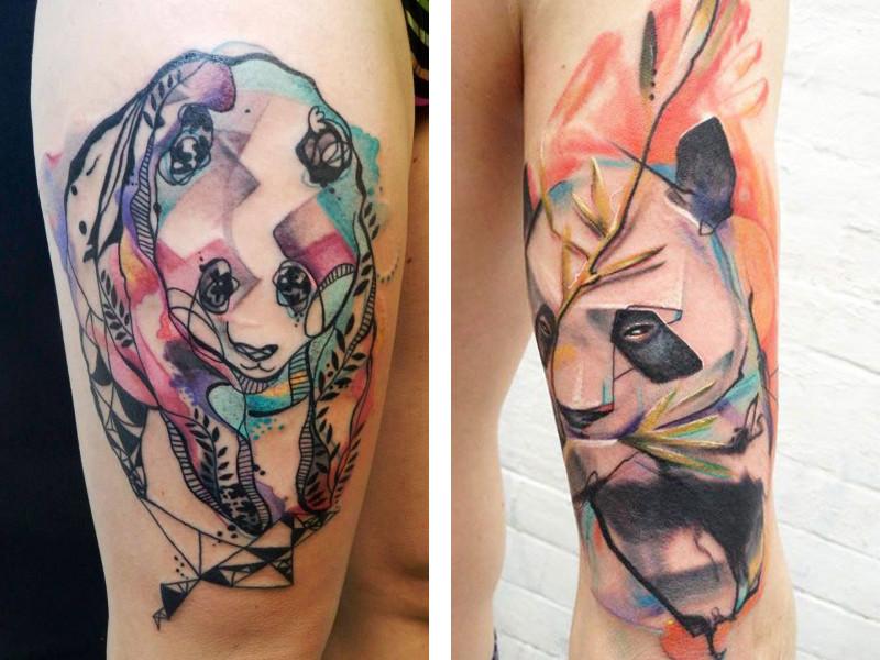 Татуировка панда и ее значение