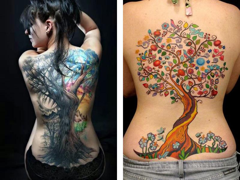 Татуировка древо жизни и ее значение