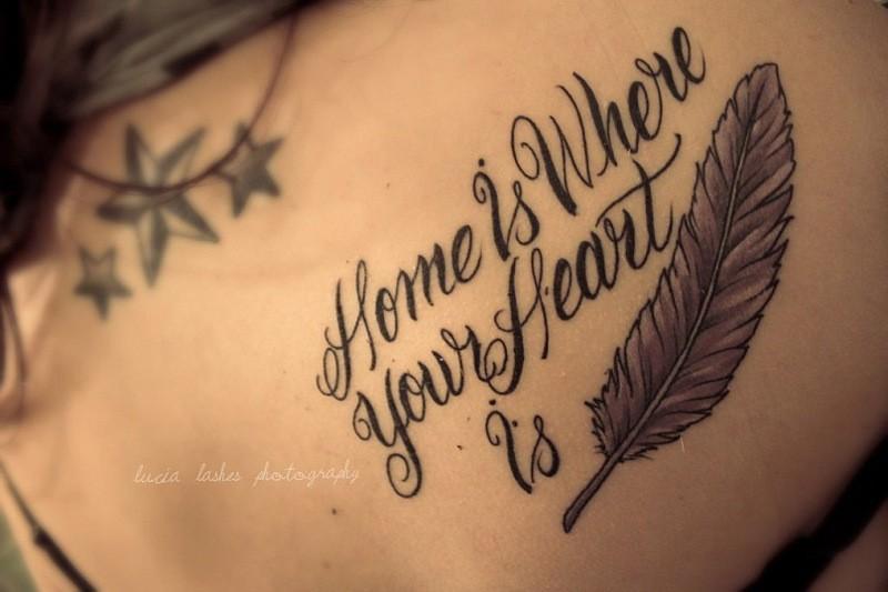 Красивые татуировки надписи