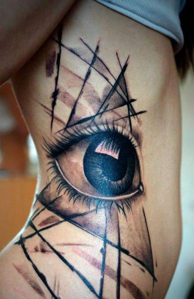 Татуировка третий глаз