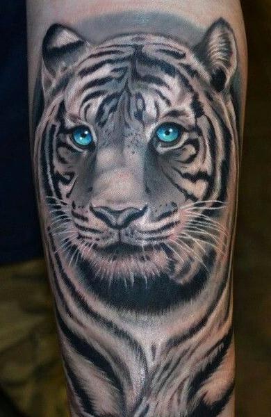 Татуировка тигр